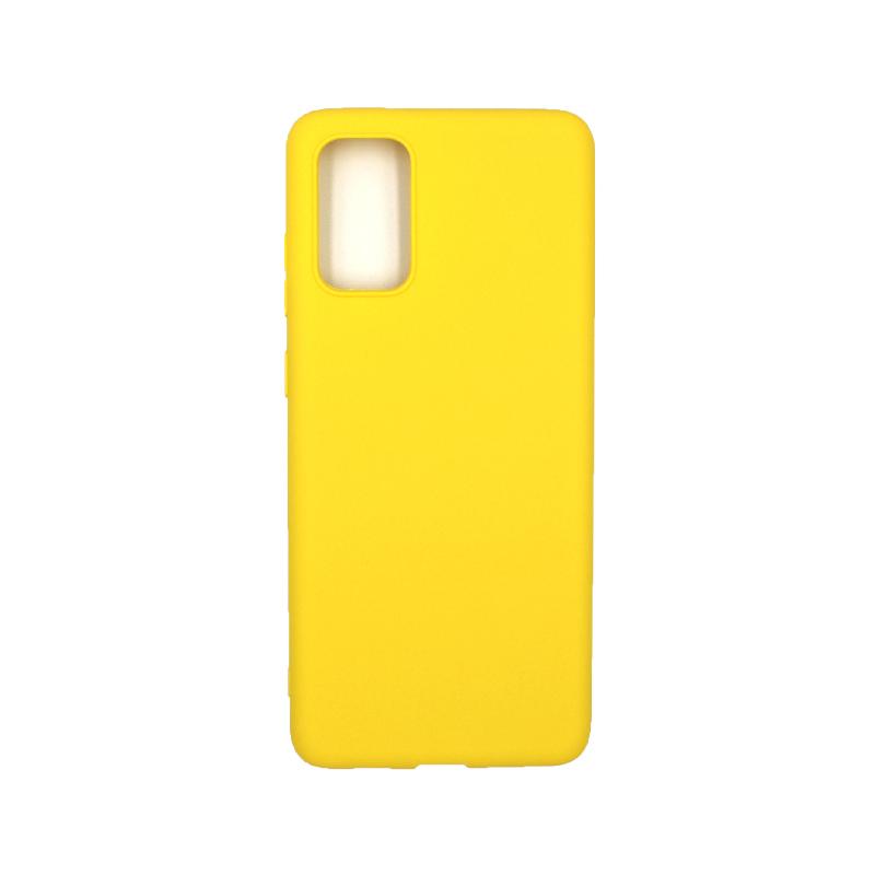 Θήκη Samsung Galaxy S20 Plus Σιλικόνη κίτρινο