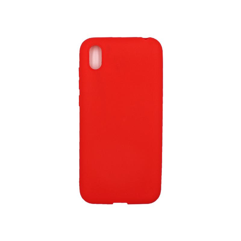 Θήκη Huawei Y5 2019 Σιλικόνη κόκκινο
