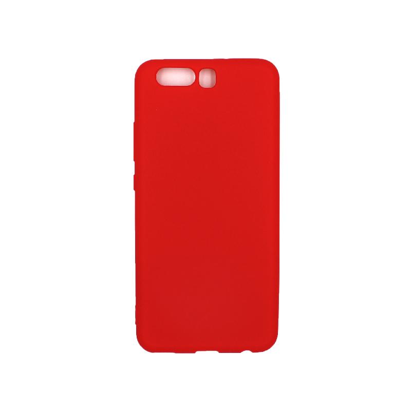 Θήκη Huawei P10 Σιλικόνη κόκκινο