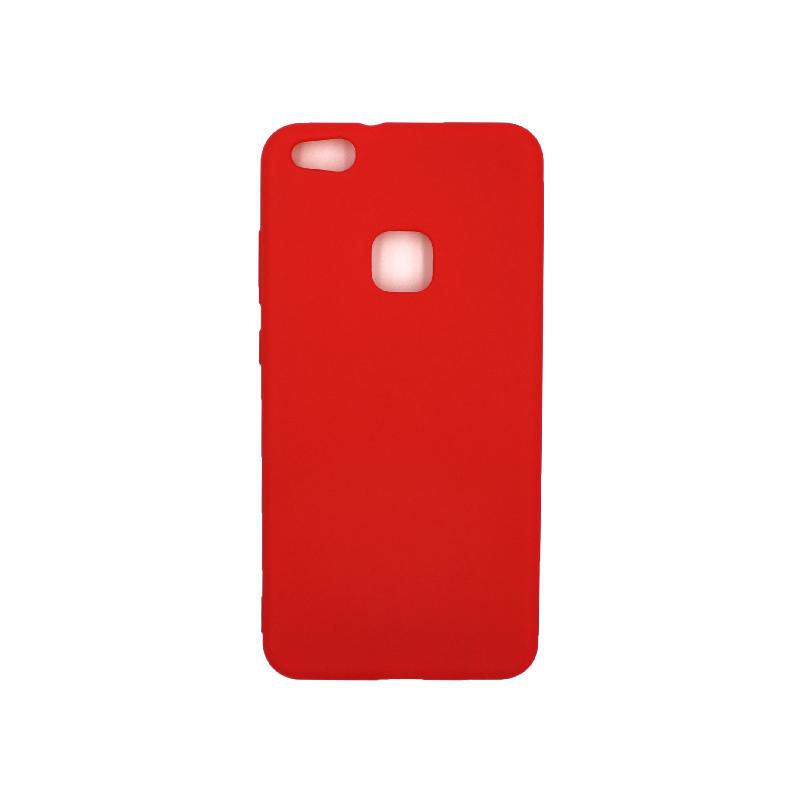 Θήκη Huawei P10 Lite Σιλικόνη κόκκινο