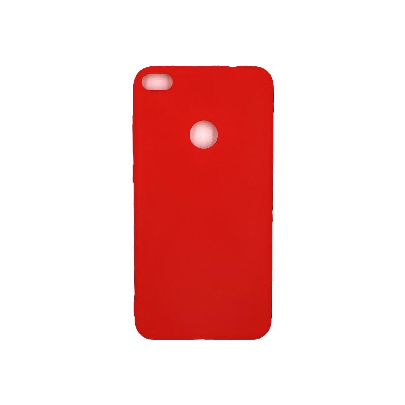Θήκη Huawei P8 / P9 Lite 2017 Σιλικόνη κόκκινο