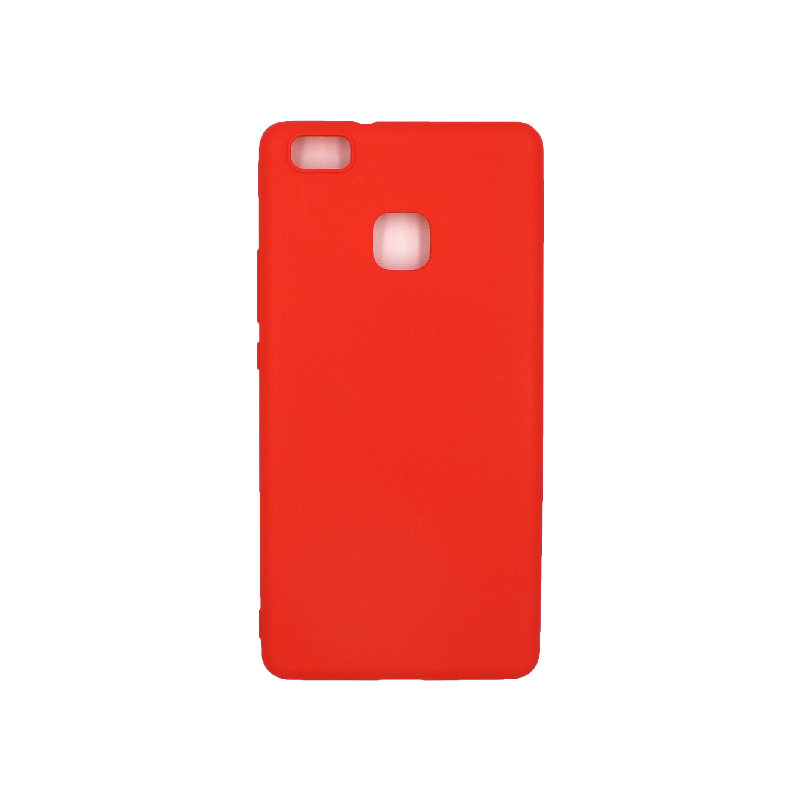 Θήκη Huawei P9 Lite Σιλικόνη κόκκινο