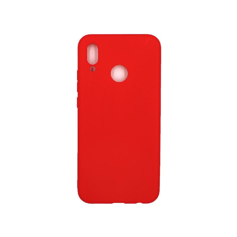 Θήκη Huawei P20 Lite Σιλικόνη κόκκινο