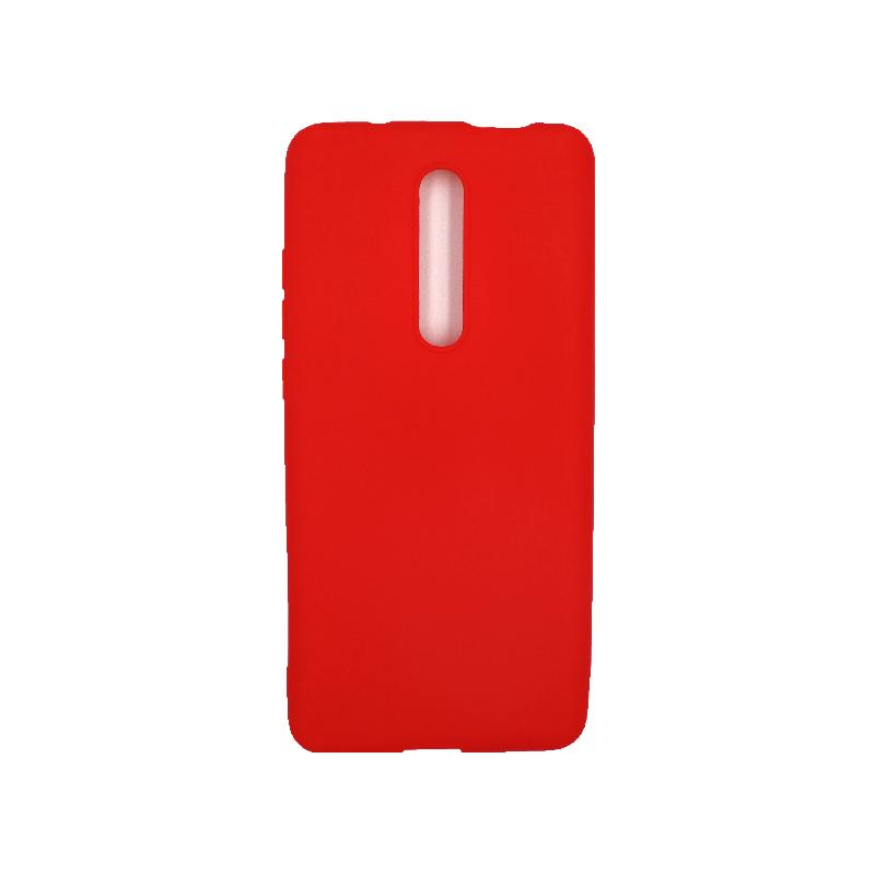 Θήκη Xiaomi Mi 9T / K20 / K20 Pro 9 Σιλικόνη κόκκινο