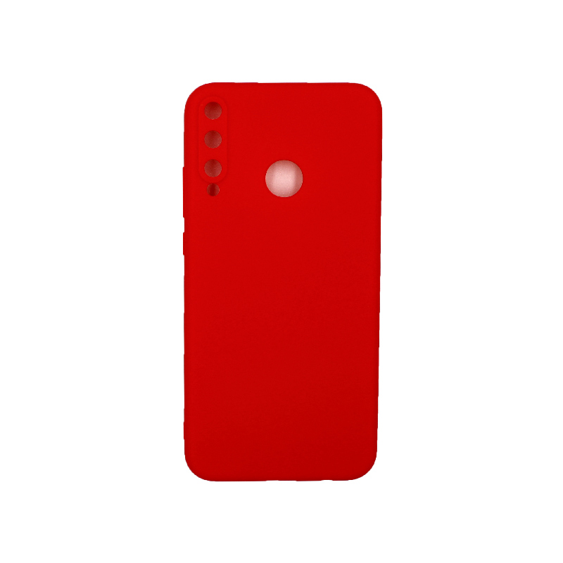 Θήκη Huawei P40 Lite E Σιλικόνη κόκκινο