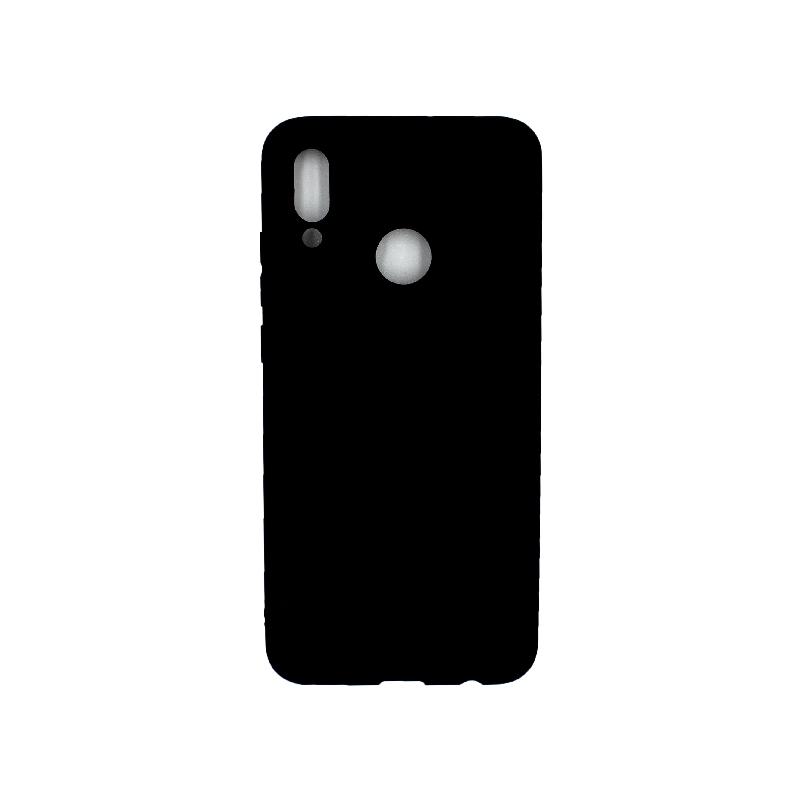 Θήκη Huawei P Smart 2019 Σιλικόνη μαύρο