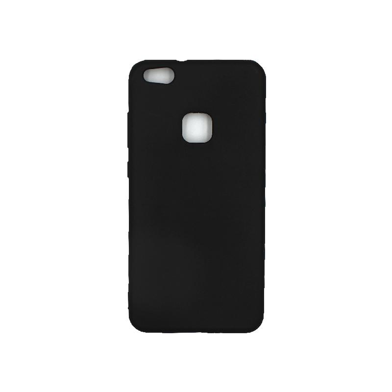 Θήκη Huawei P10 Lite Σιλικόνη μαύρο