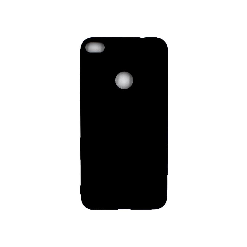 Θήκη Huawei P8 / P9 Lite 2017 Σιλικόνη μαύρο