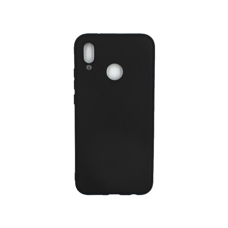 Θήκη Huawei P20 Lite Σιλικόνη μαύρο