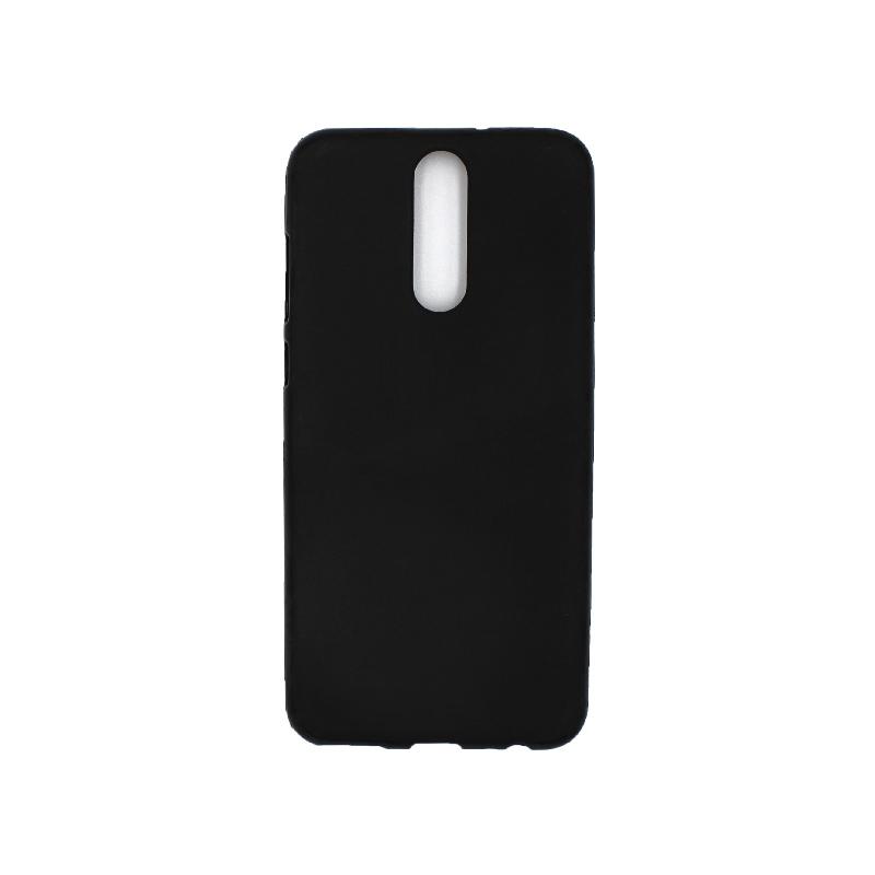 Θήκη Huawei Mate 10 Lite Σιλικόνη μαύρο