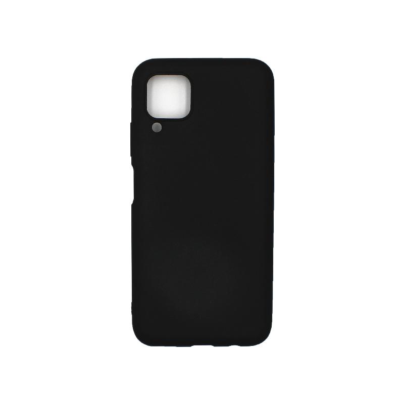 Θήκη Huawei P40 Lite Σιλικόνη μαύρο
