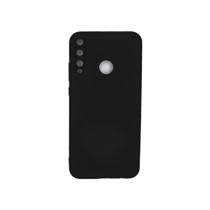 Θήκη Huawei P40 Lite E Σιλικόνη μαύρο