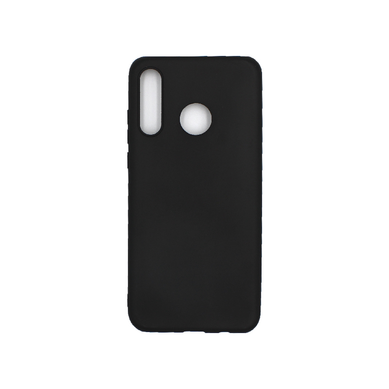 Θήκη Huawei P30 Lite Σιλικόνη μαύρο
