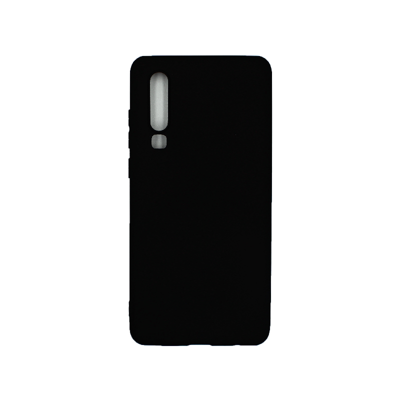 Θήκη Huawei P30 Pro Σιλικόνη μαύρο