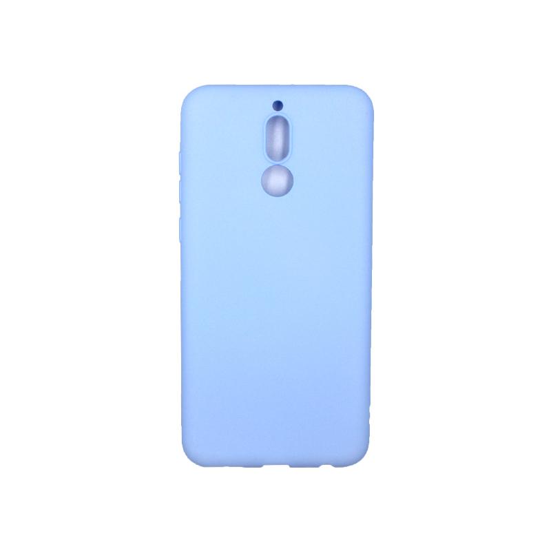 Θήκη Huawei Mate 10 Lite Σιλικόνη (Double Hole) γαλάζιο