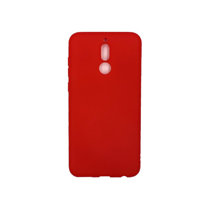 Θήκη Huawei Mate 10 Lite Σιλικόνη (Double Hole) κόκκινο