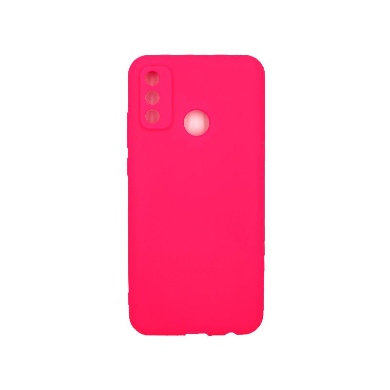 Θήκη Huawei P Smart 2020 Σιλικόνη ( Triple Hole ) φούξια