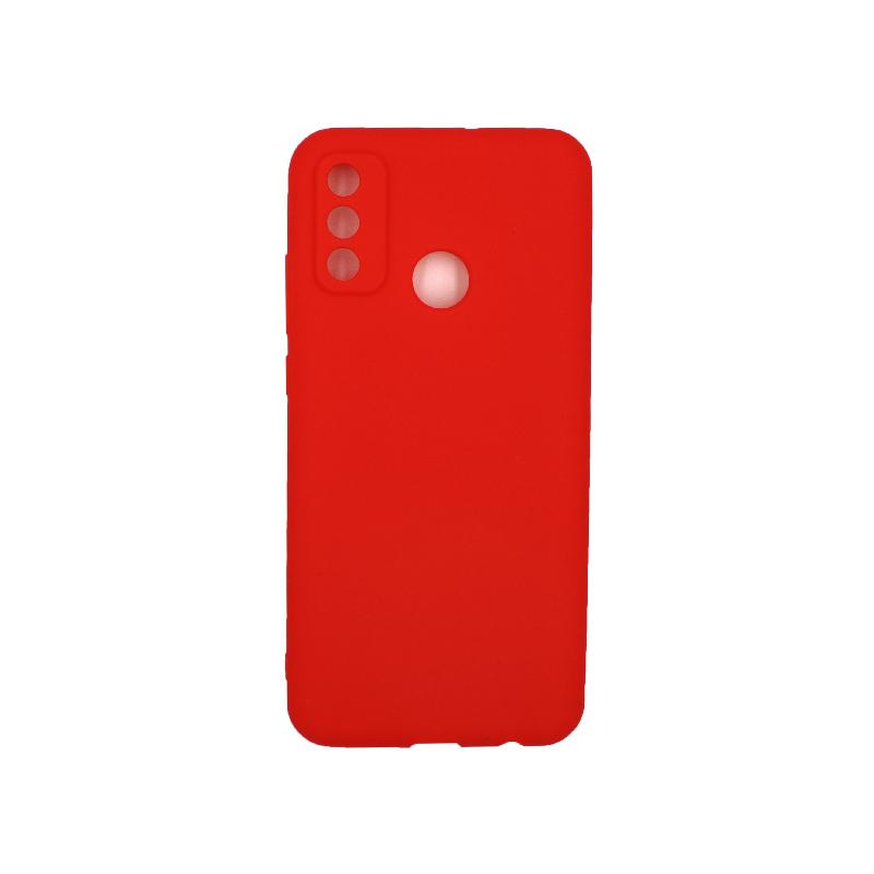 Θήκη Huawei P Smart 2020 Σιλικόνη ( Triple Hole ) κόκκινο