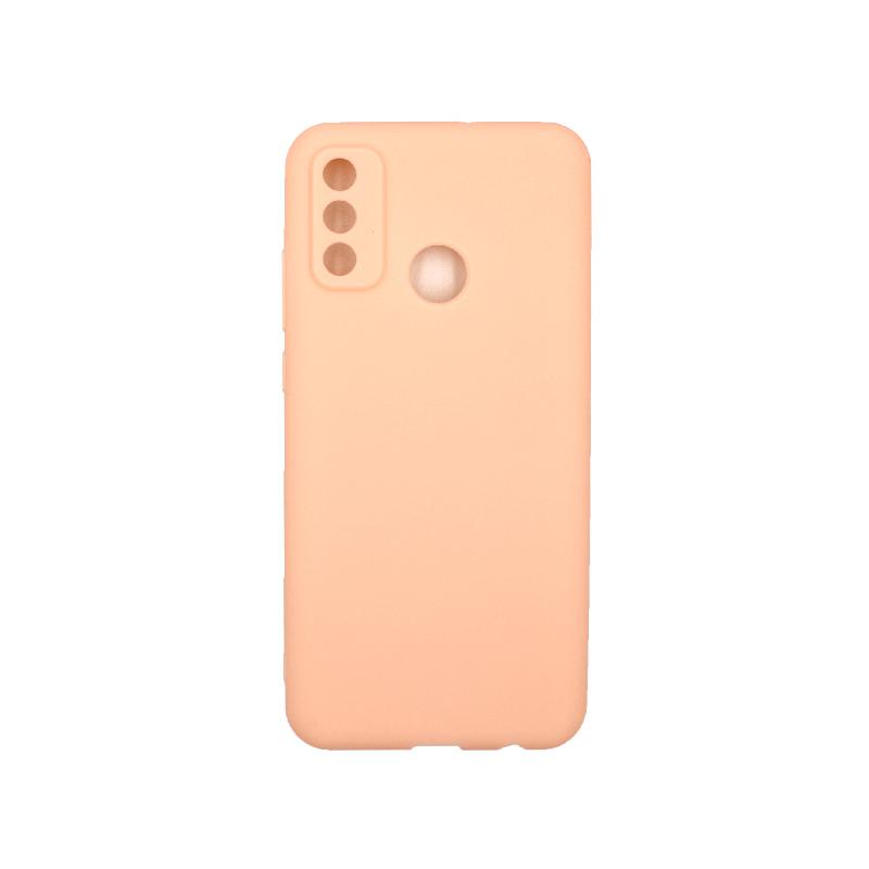 Θήκη Huawei P Smart 2020 Σιλικόνη ( Triple Hole ) μπεζ