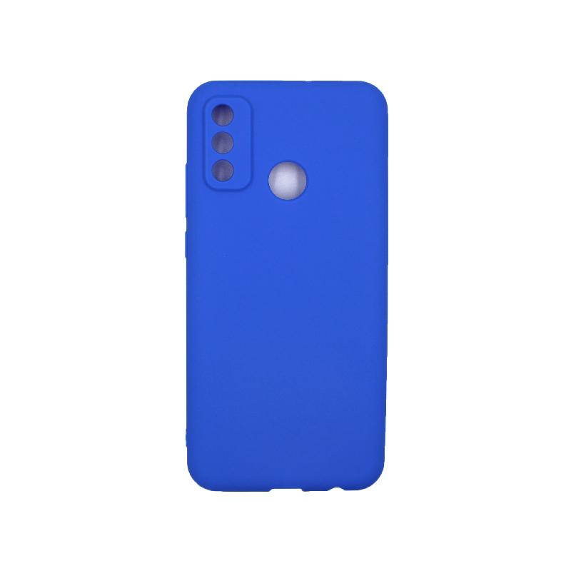 Θήκη Huawei P Smart 2020 Σιλικόνη ( Triple Hole ) μπλε