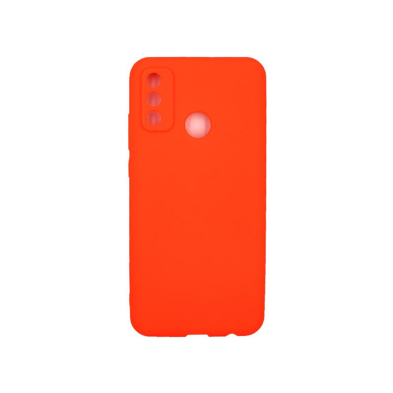 Θήκη Huawei P Smart 2020 Σιλικόνη ( Triple Hole ) πορτοκαλί