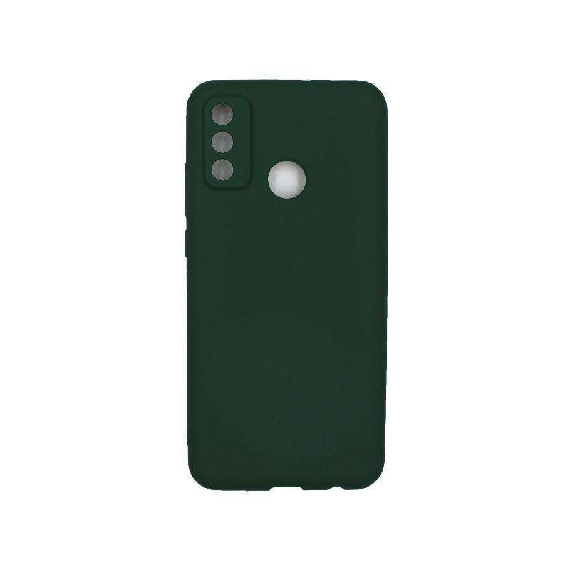 Θήκη Huawei P Smart 2020 Σιλικόνη ( Triple Hole ) πράσινο