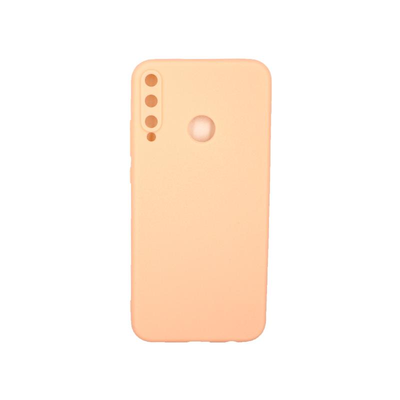 Θήκη Huawei P40 Lite E Σιλικόνη μπεζ