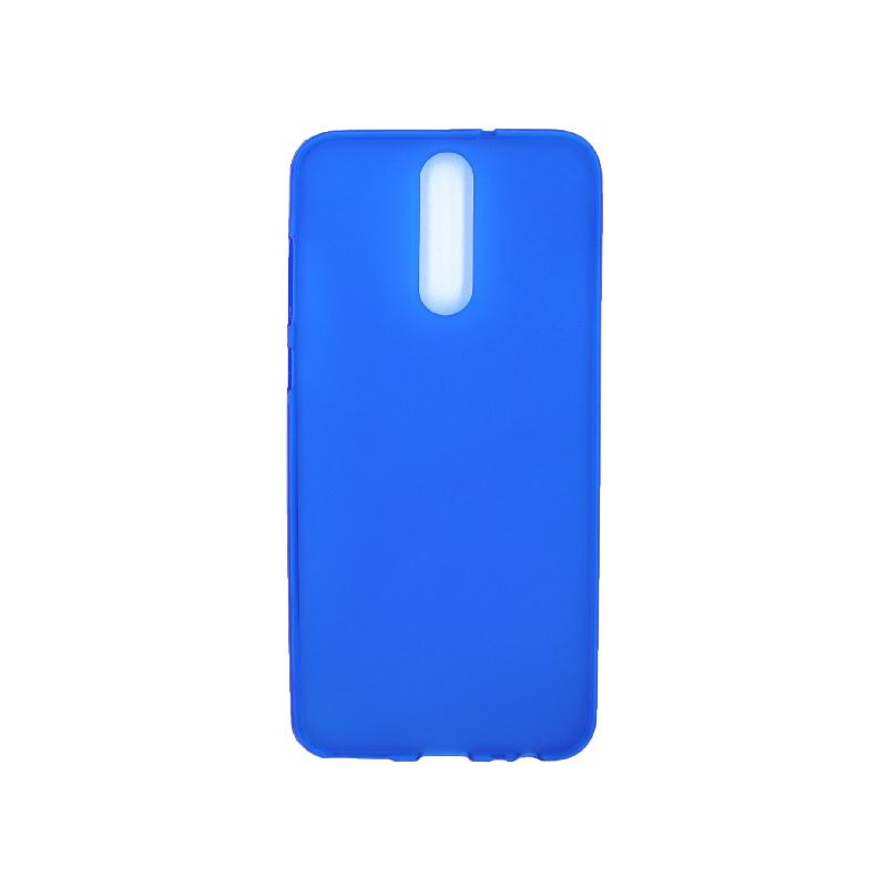 Θήκη Huawei Mate 10 Lite Σιλικόνη μπλε