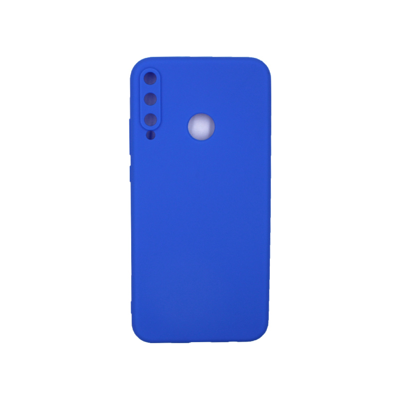 Θήκη Huawei P40 Lite E Σιλικόνη μπλε