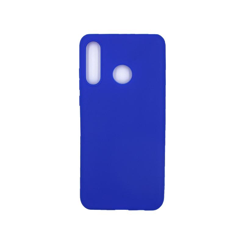 Θήκη Huawei P30 Lite Σιλικόνη μπλε