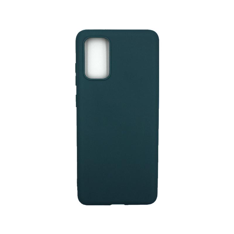 Θήκη Samsung Galaxy S20 Plus Σιλικόνη πετρόλ