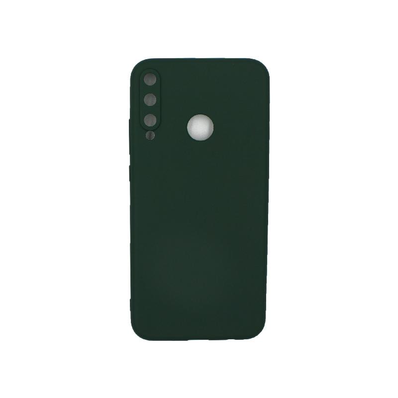 Θήκη Huawei P40 Lite E Σιλικόνη πράσινο