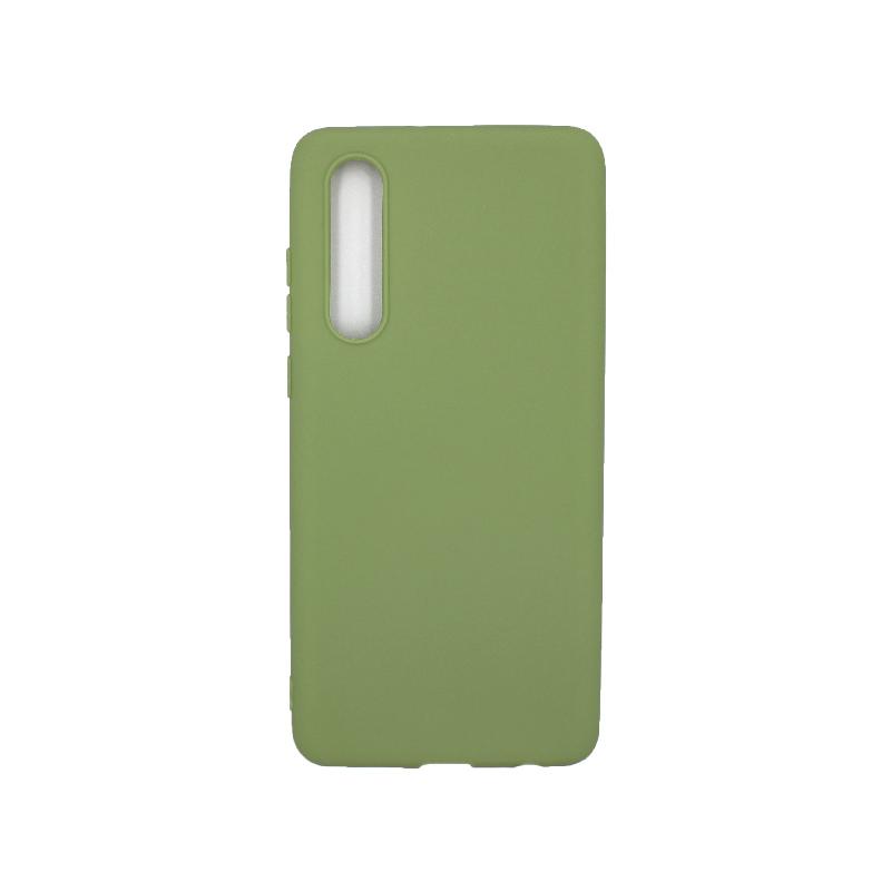 Θήκη Huawei P30 Pro Σιλικόνη πράσινο