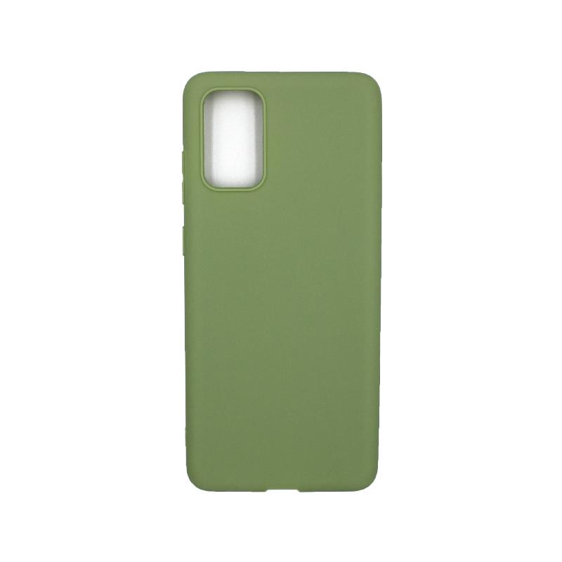 Θήκη Samsung Galaxy S20 Plus Σιλικόνη πράσινο