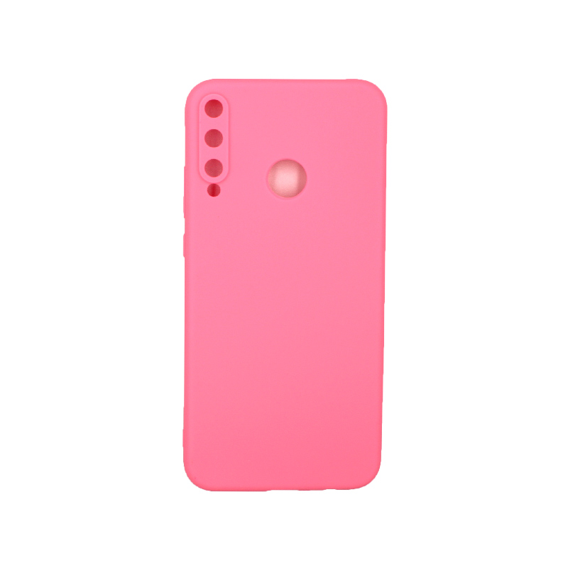 Θήκη Huawei P40 Lite E Σιλικόνη ροζ