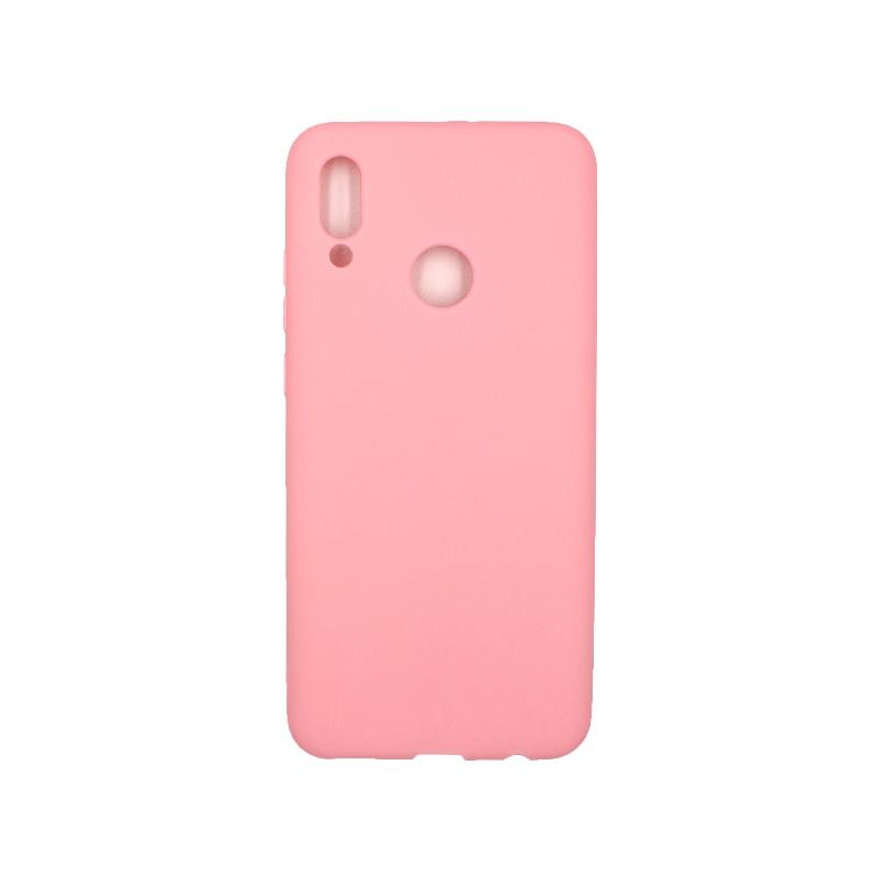 Θήκη Huawei P Smart 2019 Σιλικόνη ροζ