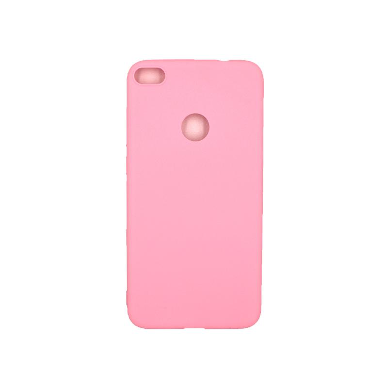 Θήκη Huawei P8 / P9 Lite 2017 Σιλικόνη ροζ