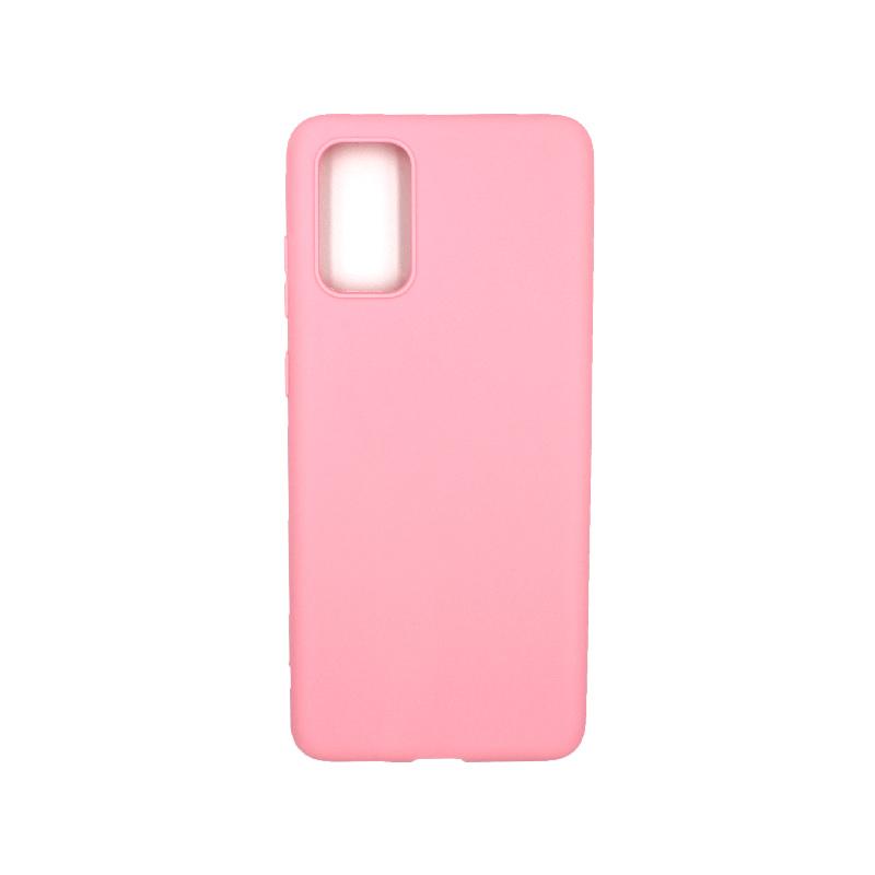 Θήκη Samsung Galaxy S20 Plus Σιλικόνη ροζ