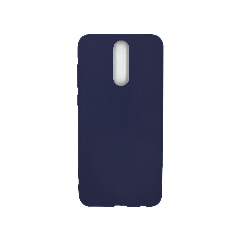 Θήκη Huawei Mate 10 Lite Σιλικόνη σκούρο μπλε