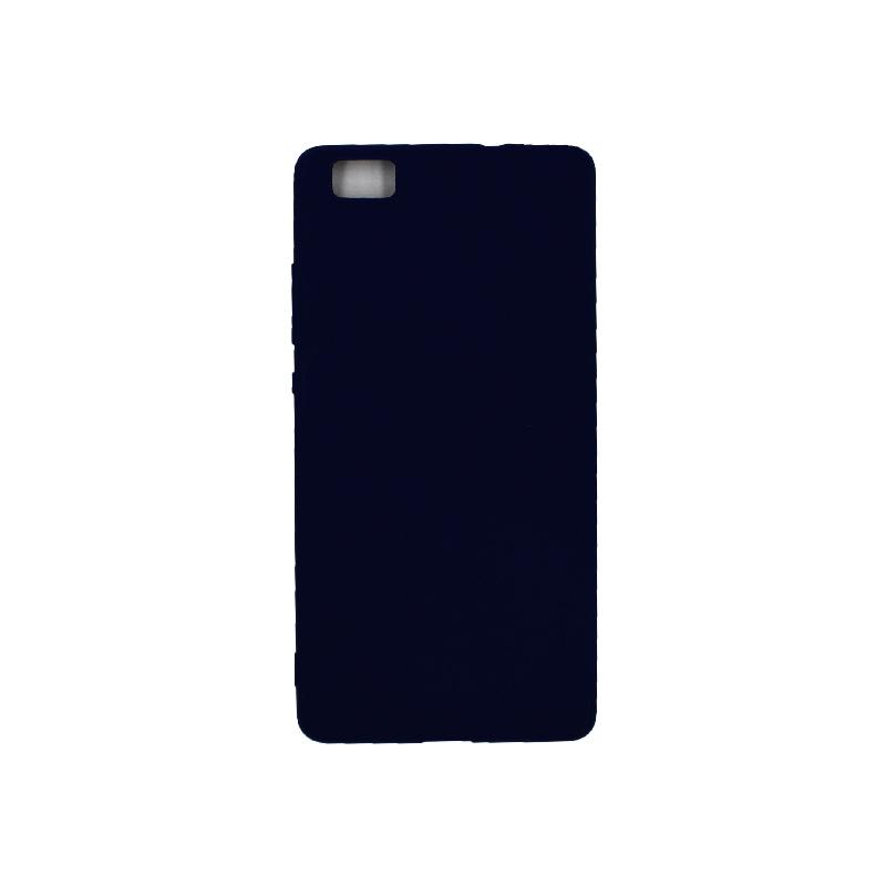 Θήκη Huawei P8 Lite Σιλικόνη μπλε