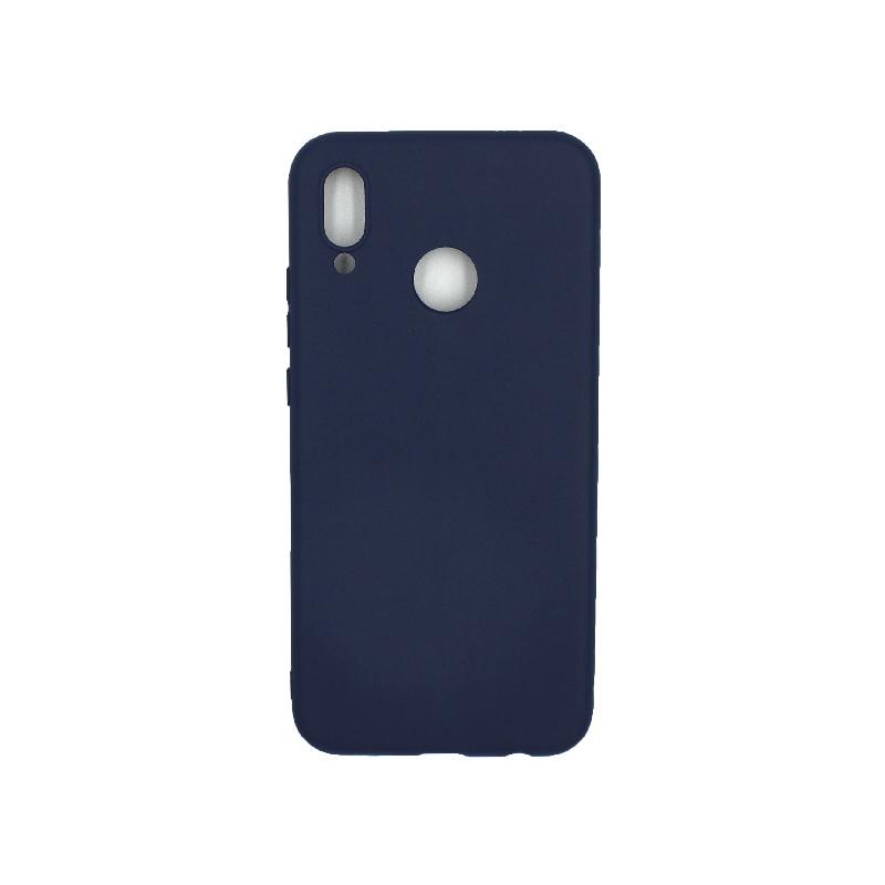 Θήκη Huawei P20 Lite Σιλικόνη μπλε