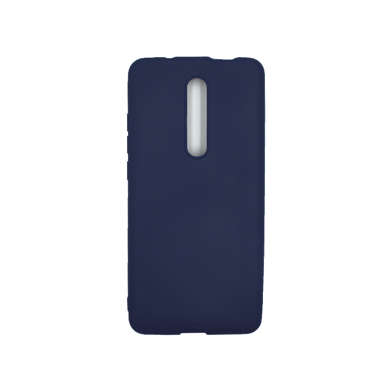 Θήκη Xiaomi Mi 9T / K20 / K20 Pro 9 Σιλικόνη μπλε