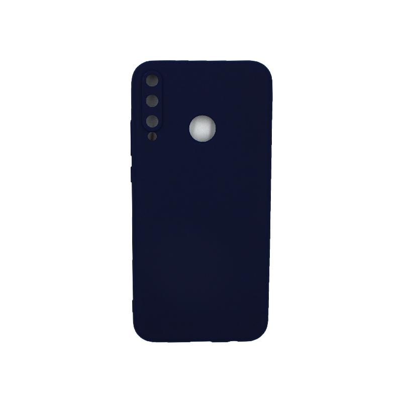 Θήκη Huawei P40 Lite E Σιλικόνη σκούρο μπλε