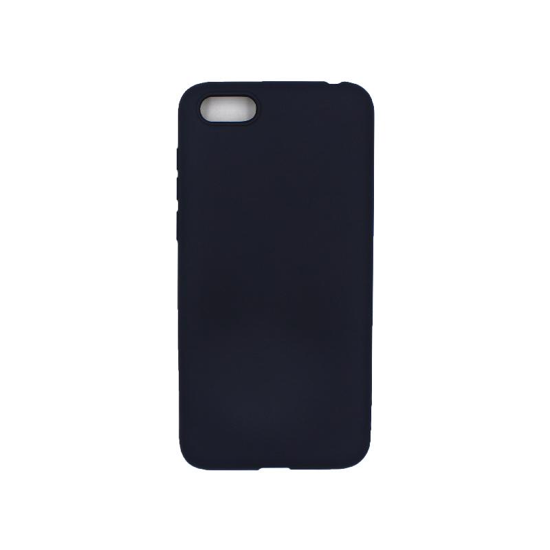 Θήκη Huawei Y5 2018 Σιλικόνη σκούρο μπλε