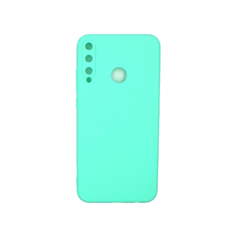 Θήκη Huawei P40 Lite E Σιλικόνη τιρκουάζ