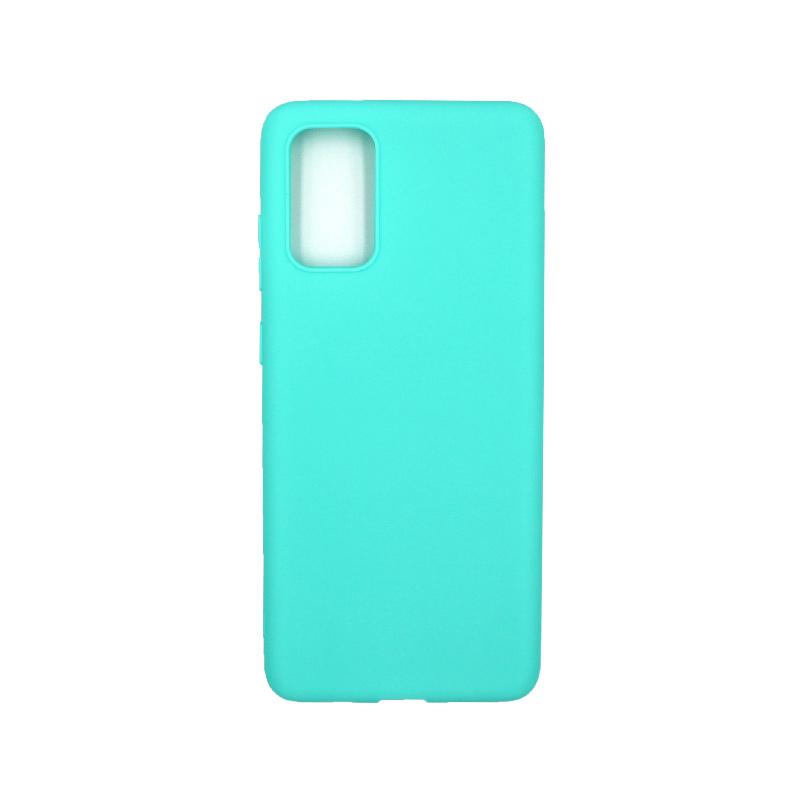 Θήκη Samsung Galaxy S20 Plus Σιλικόνη τιρκουάζ