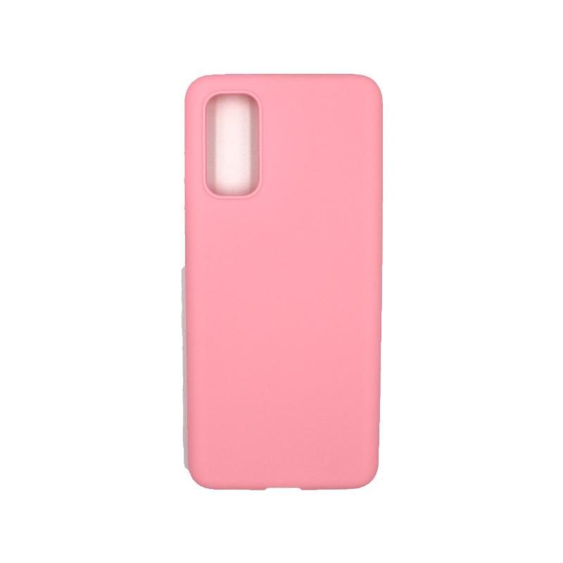 Θήκη Samsung Galaxy S20 Σιλικόνη απαλό ροζ