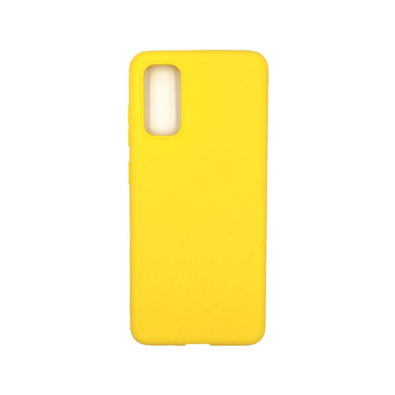 Θήκη Samsung Galaxy S20 Σιλικόνη κίτρινο