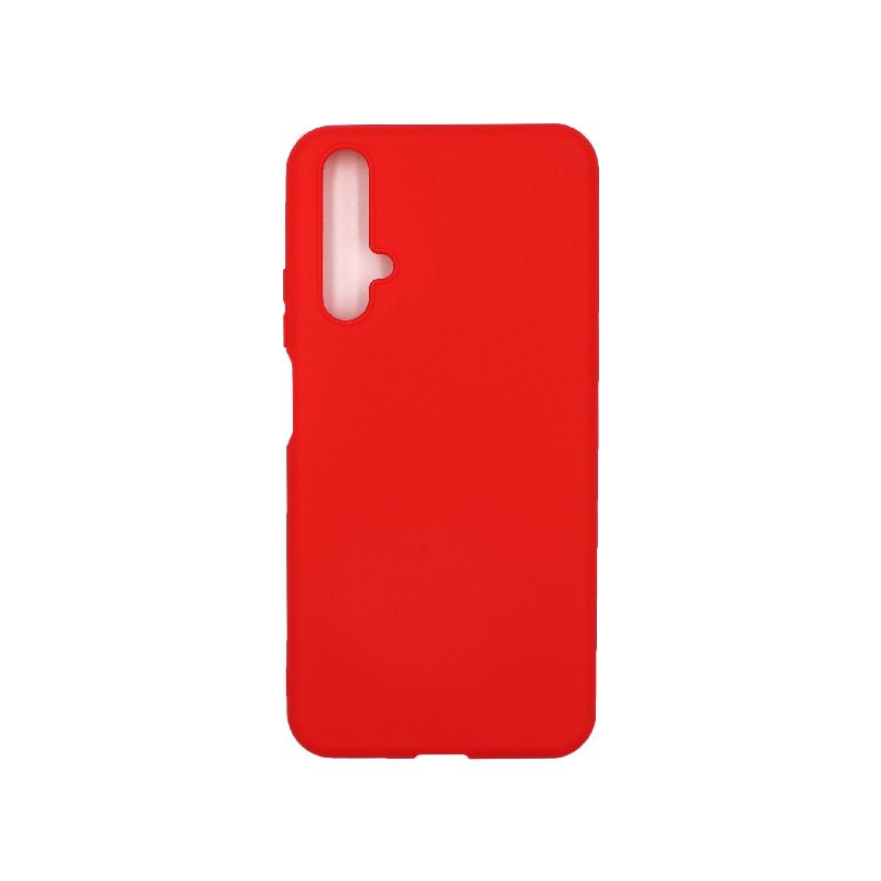 Θήκη Honor 20 / Huawei Nova 5T Σιλικόνη κόκκινο