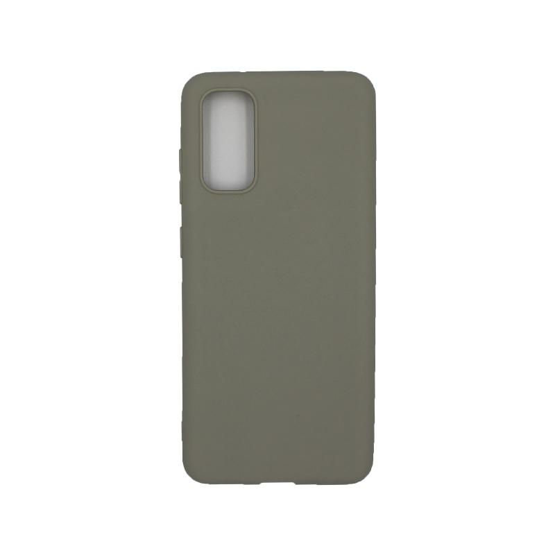 Θήκη Samsung Galaxy S20 Σιλικόνη μπεζ